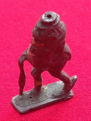 Original 1934 Cococub figure  Freddy Frog ( Stands upright but wants straightening )